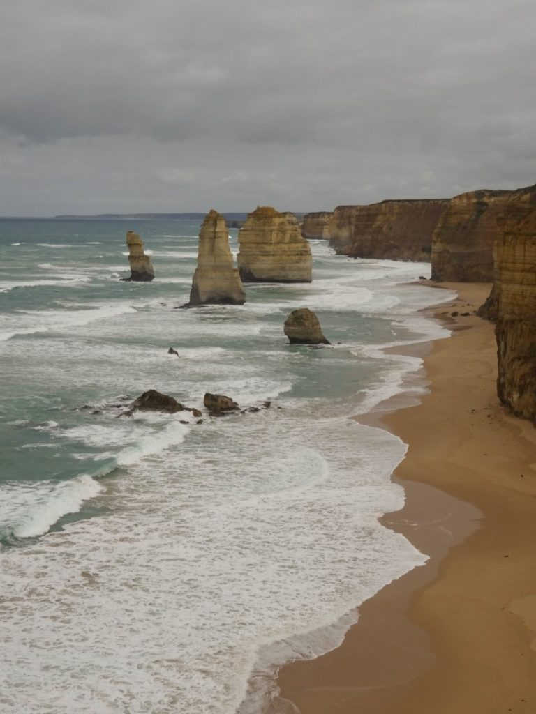 The iconic view of the Twelve Apostles