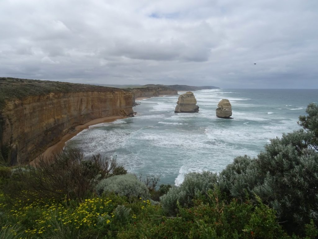 The other side of the Twelve Apostles