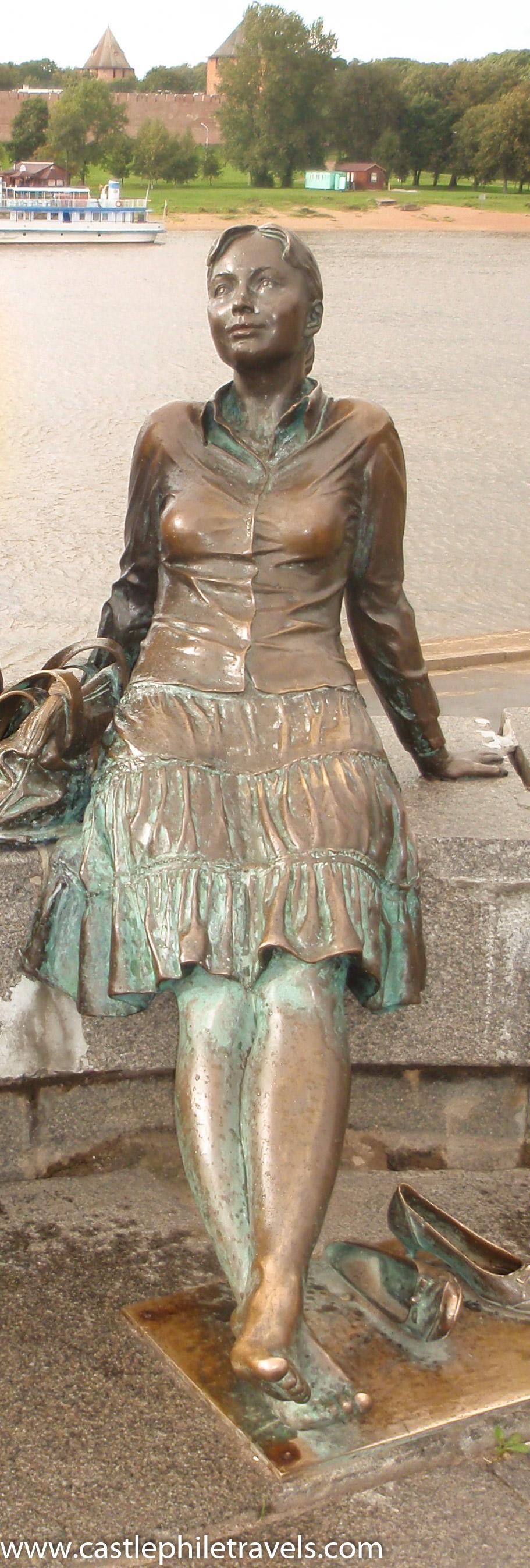 Statue in Veliky Novgorod