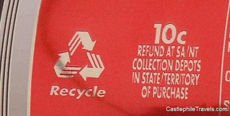 10 cent deposit Incentives encourage recycling in South Australia