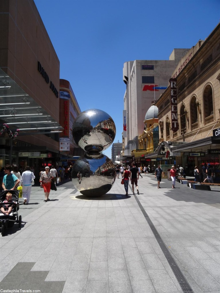 The Malls Balls in Rundle Mall