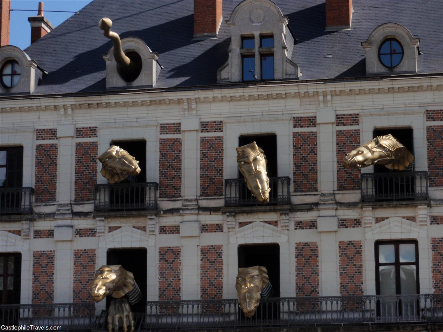 The strange dragons of the Maison de la Magie