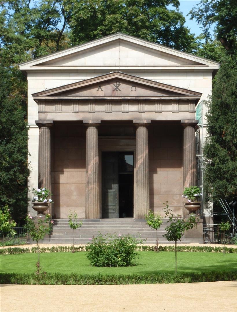 The Mausoleum at Charlottenburg Palace
