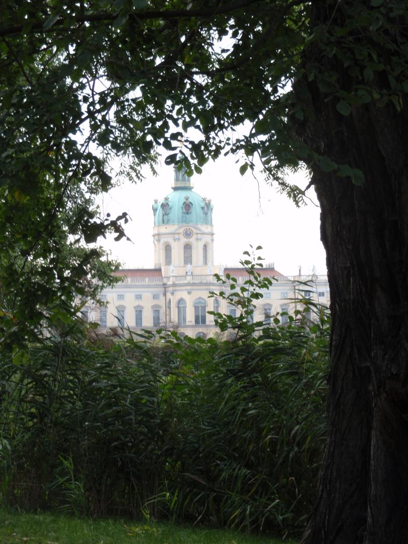 My favourite view of Charlottenburg Palace