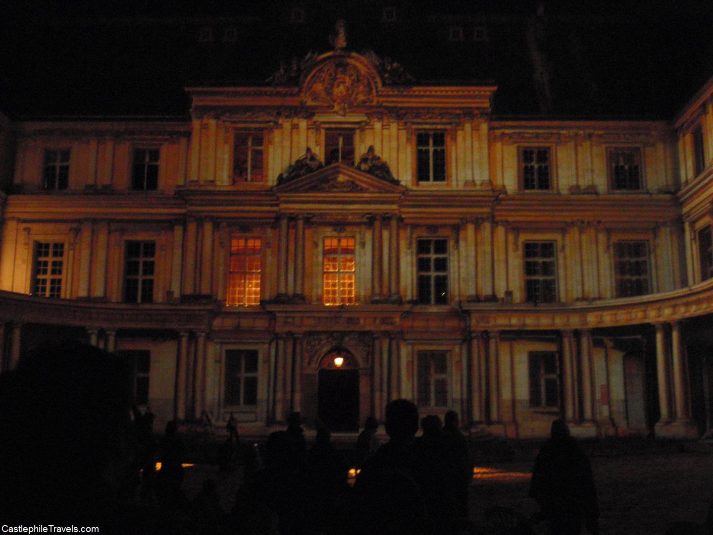 The Sound and Light Show at Château de Blois
