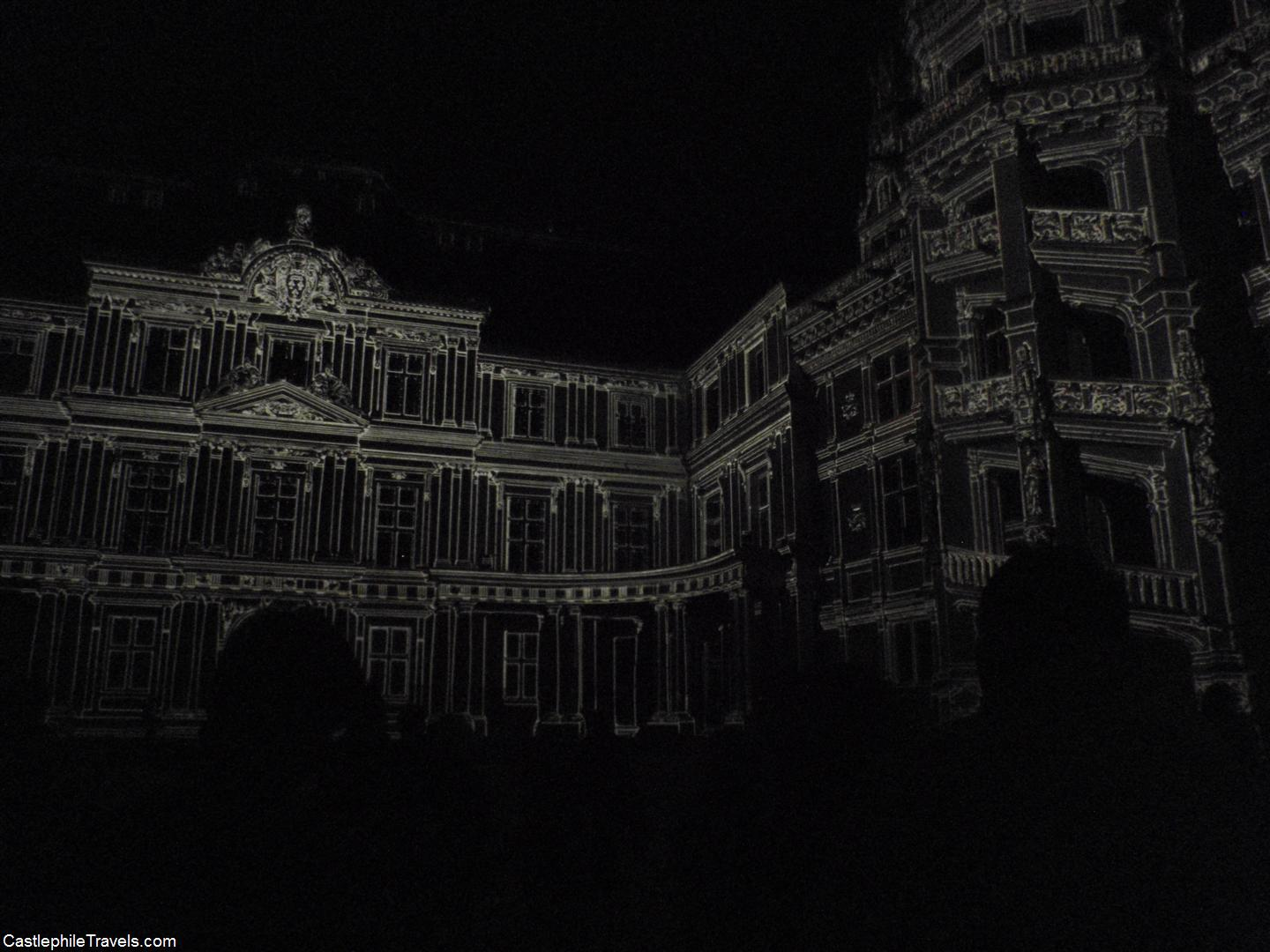 The Sound and Light Show at the Château de Blois