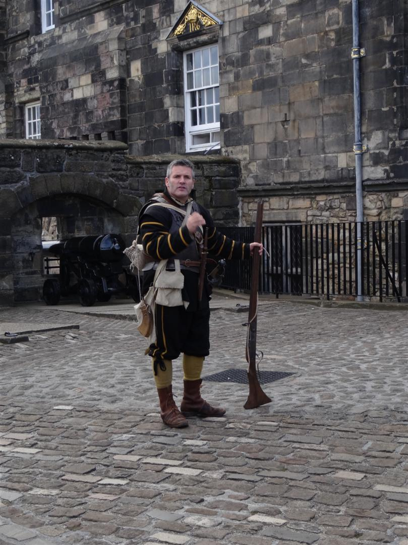The Weaponry exhibition at Edinburgh Castle