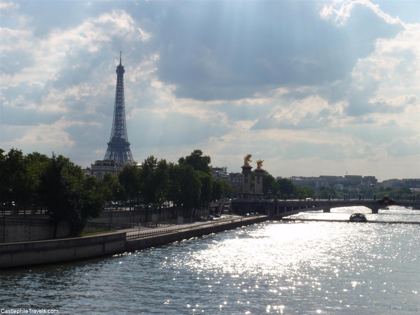 The Eiffel Tower from the Pont de la Concorde