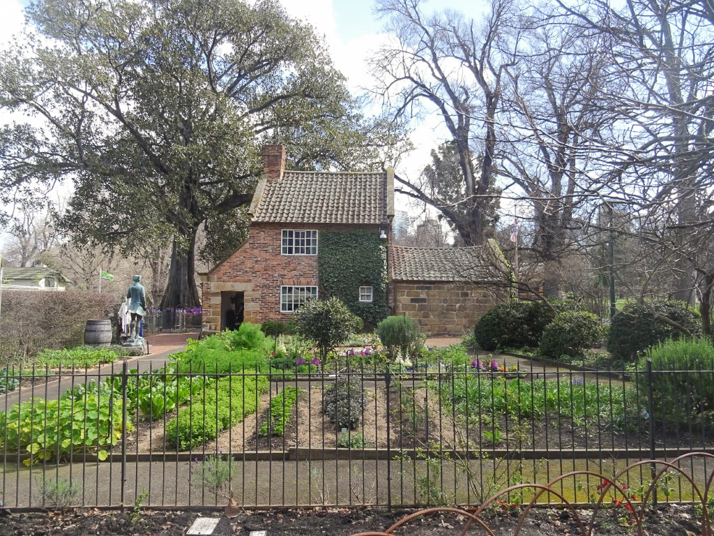 Cook's Cottage in Fitzroy Gardens