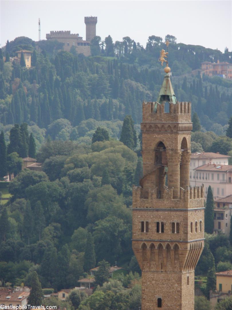 The tower of the Castello Vecchio