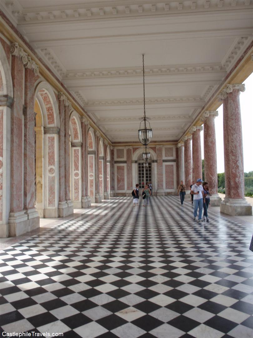 The portico of the Grand Trianon