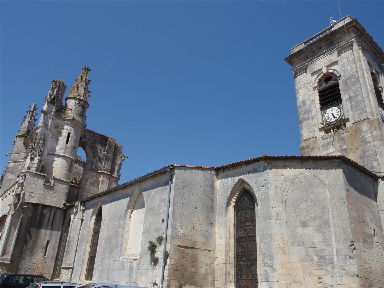 The Église Saint-Martin de Saint-Martin-de-Ré
