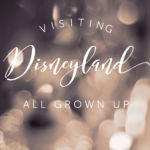 Visiting Disneyland All Grown Up