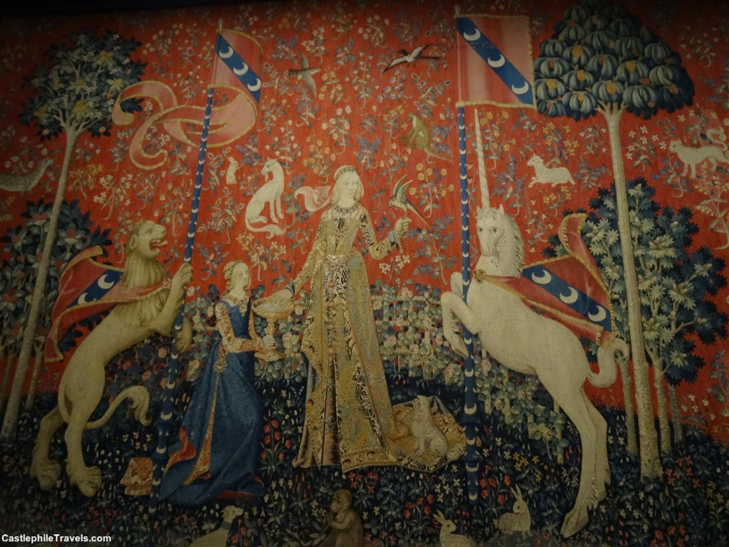 The Lady and the Unicorn - 'Taste' tapestry