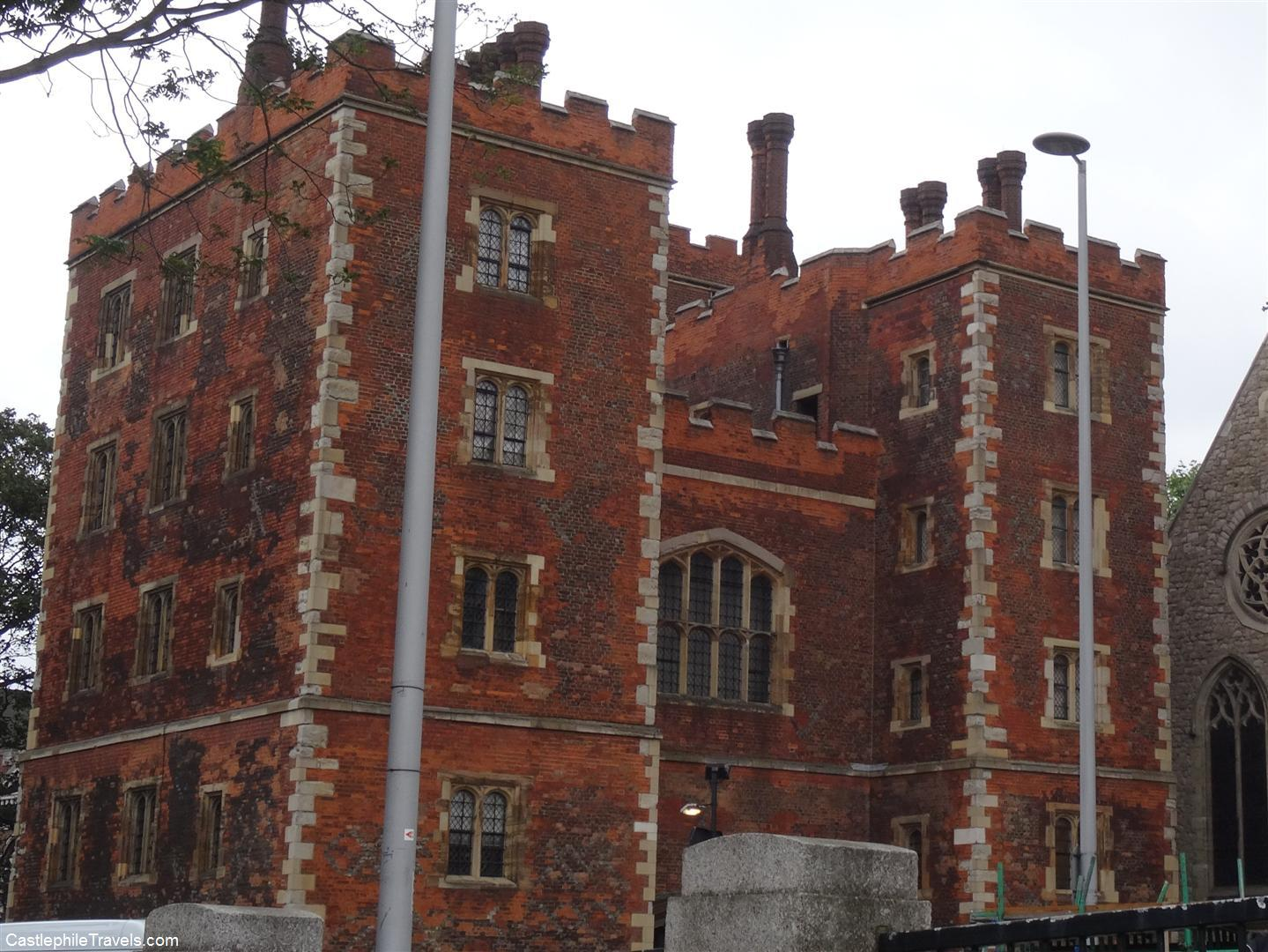 Lambeth Palace, the London home of the Archbishop of Canterbury