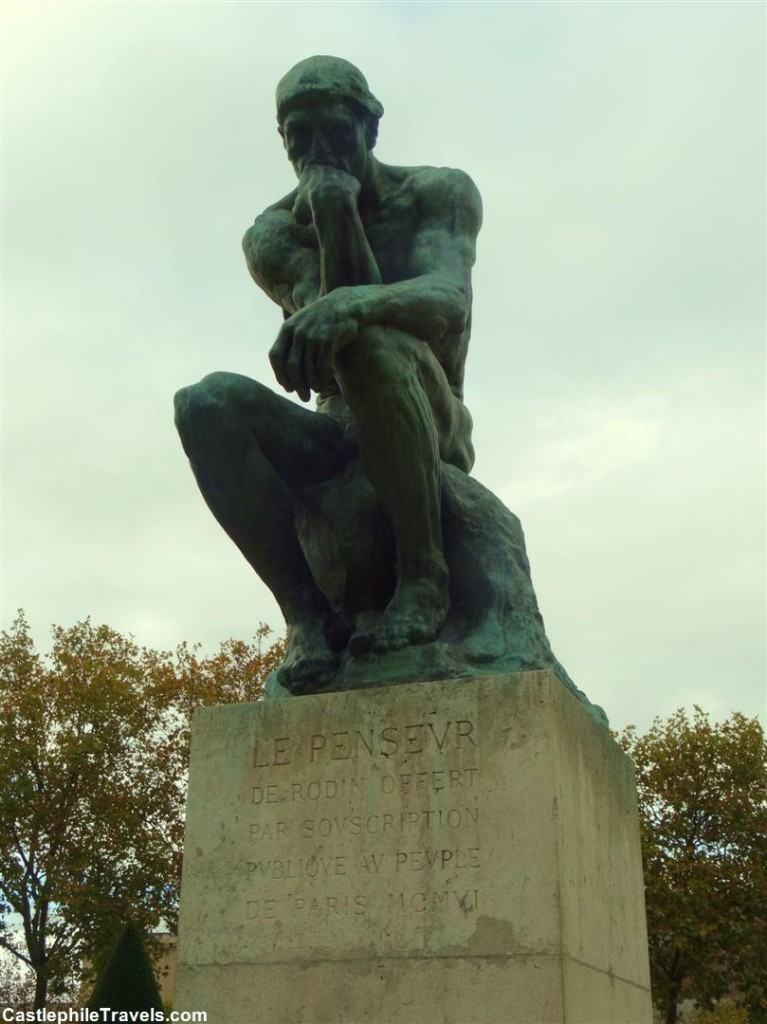 The Thinker at the Musée Rodin