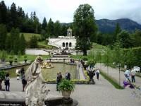 The gardens at Linderhof Palace