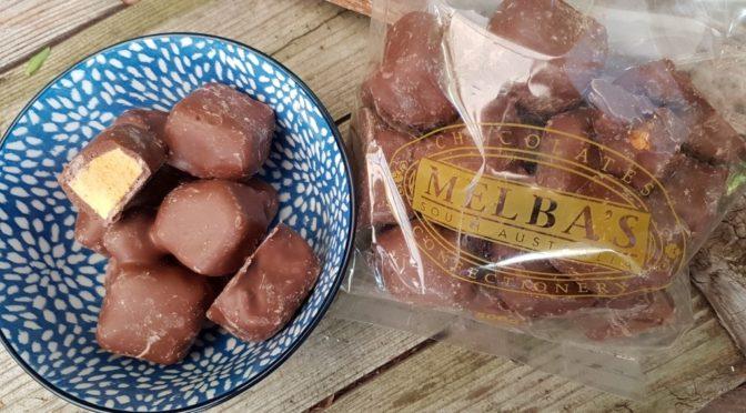 Chocolate honeycomb from Me;ba's - yum!