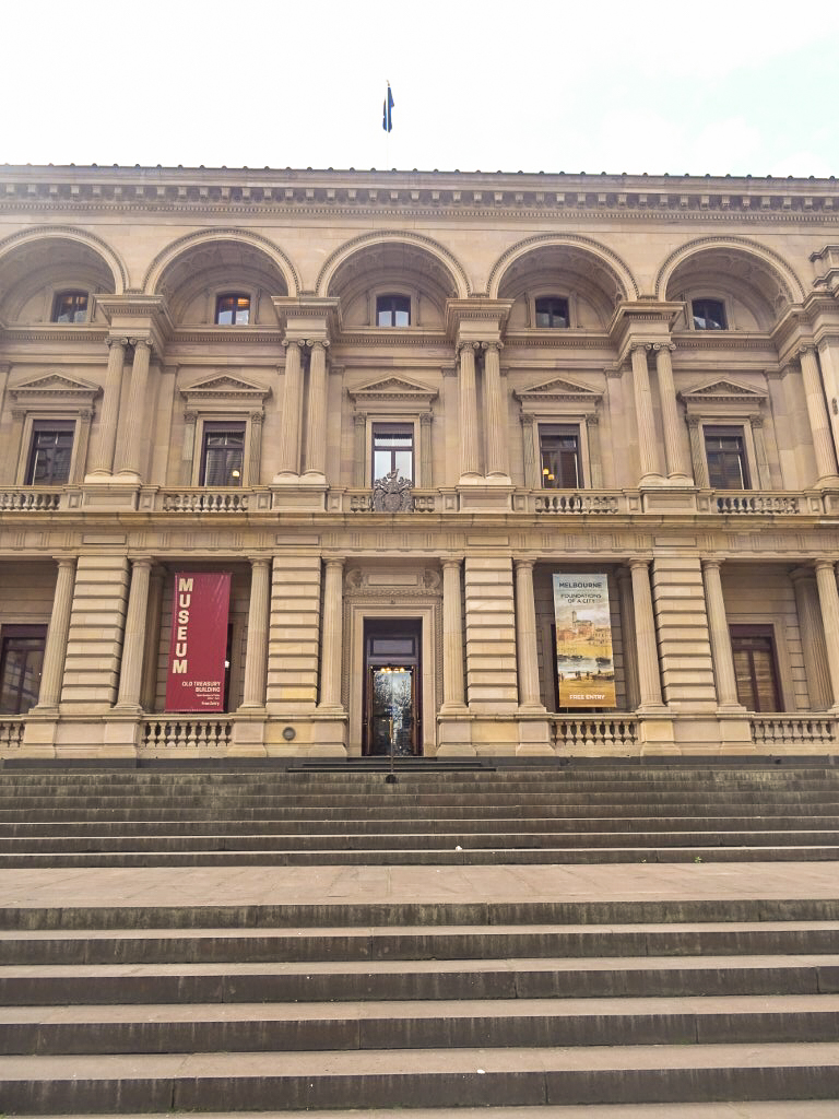 The Old Treasury building in Melbourne
