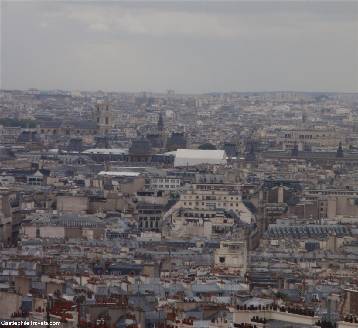 The view over Montmartre