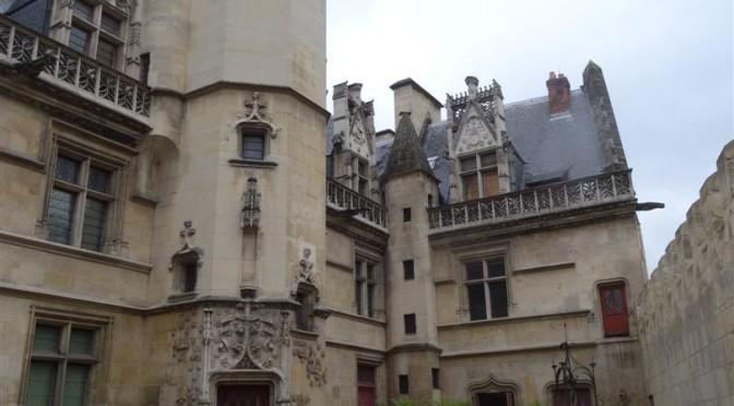 The entrance to the Hôtel de Cluny