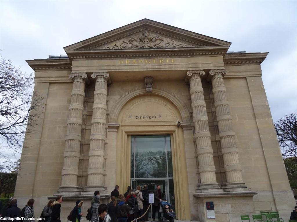 The Musée de l'Orangerie