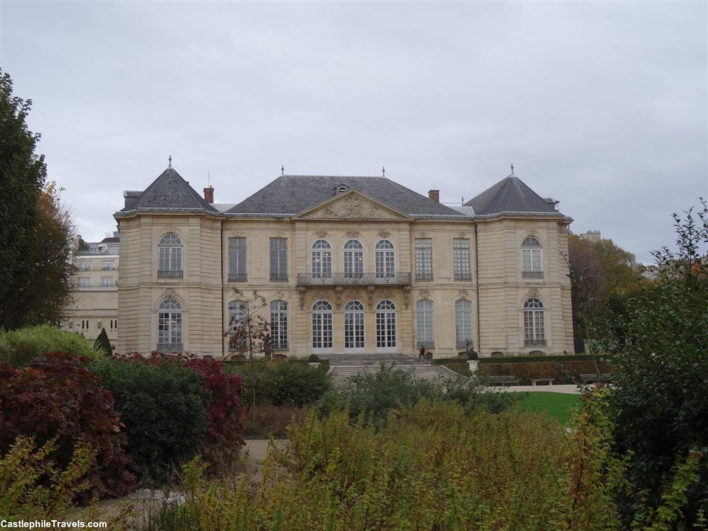The gardens of the Musée Rodin