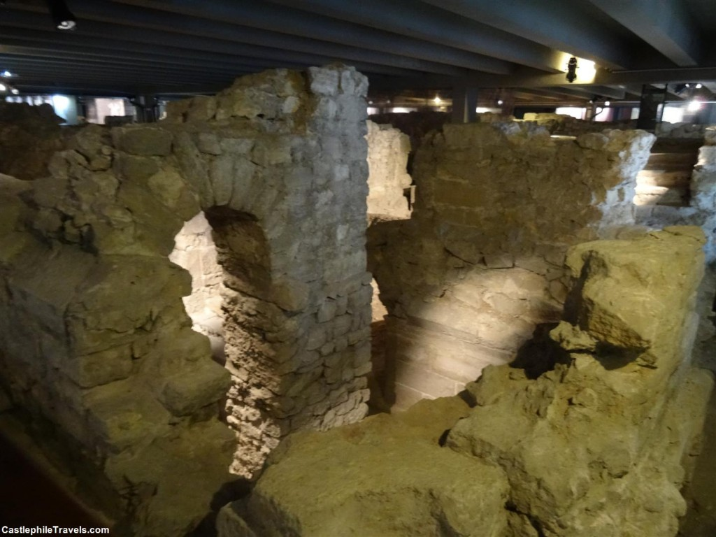 The Roman foundations of Lutetia in the Archaeolgical Crypt of Notre Dame