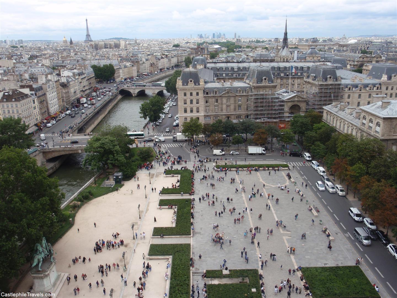 The Place du Parvis-Notre-Dame