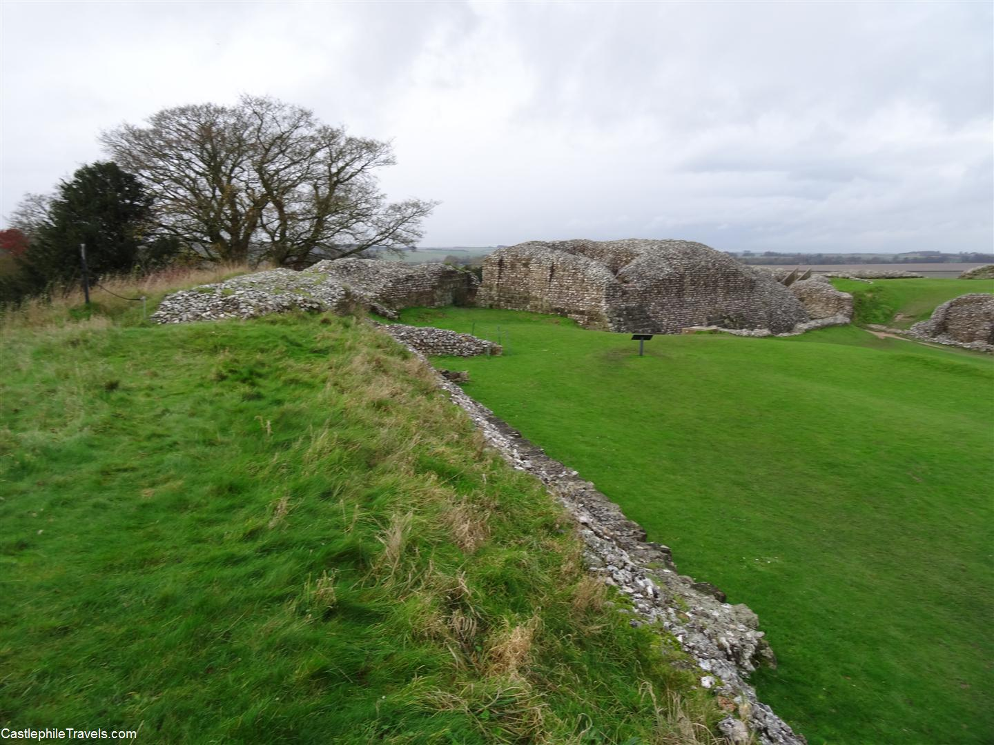 The ruins of Old Sarum