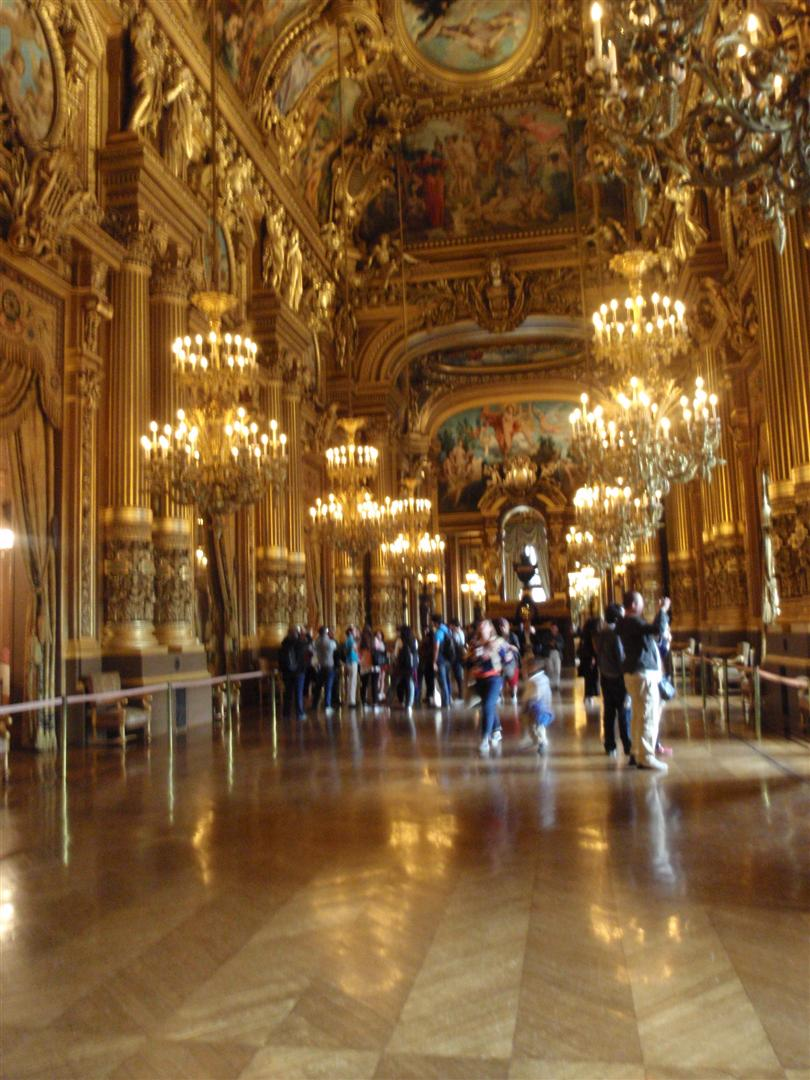 The Grand Foyer in the Palais Garnier