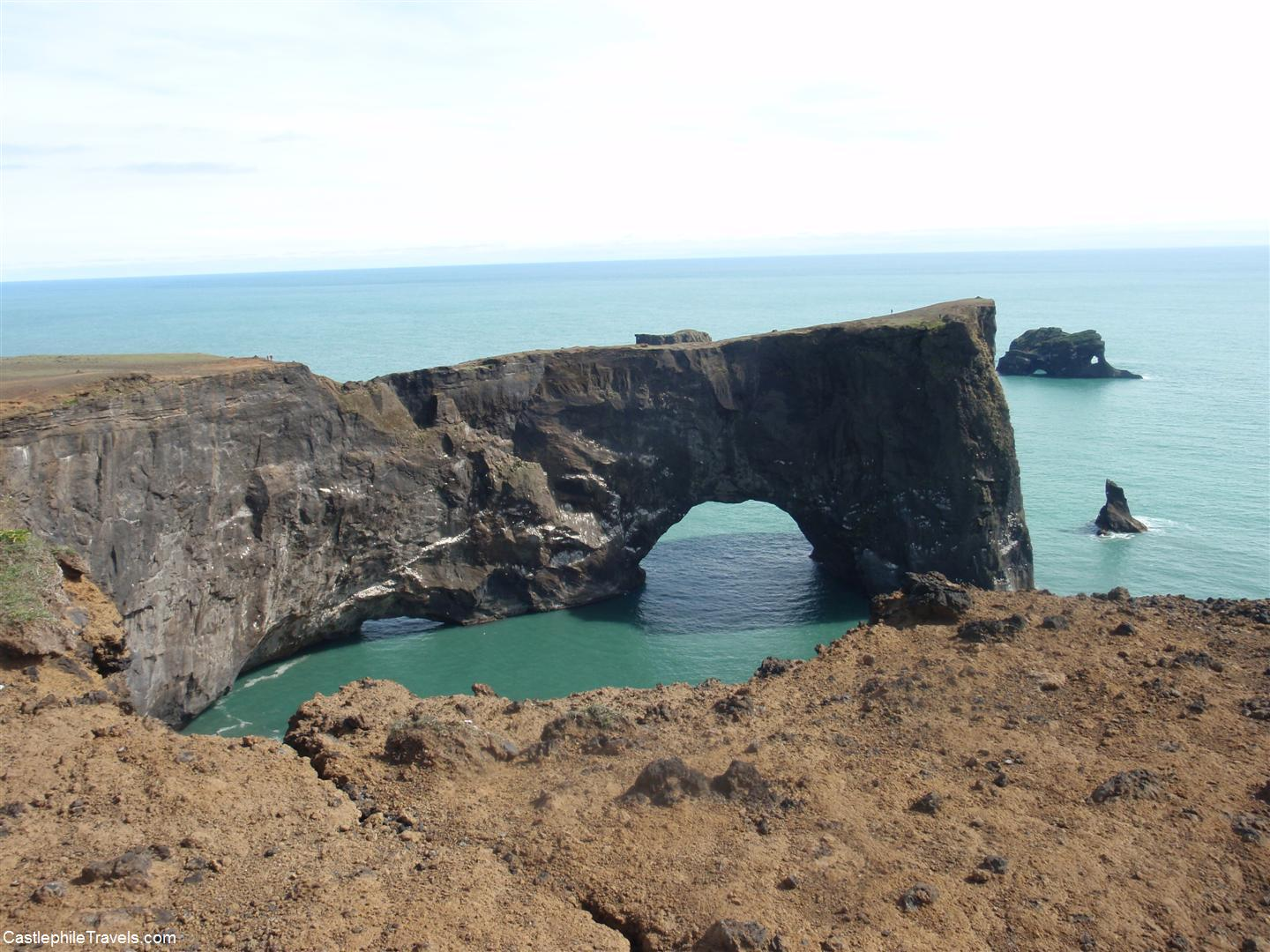 The 'London Bridge' rock formation