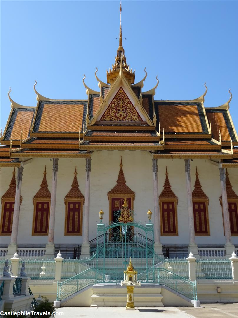 Wat Preah Keo (The Silver Pagoda) is known for its emerald Buddha and its silver-tiled floor