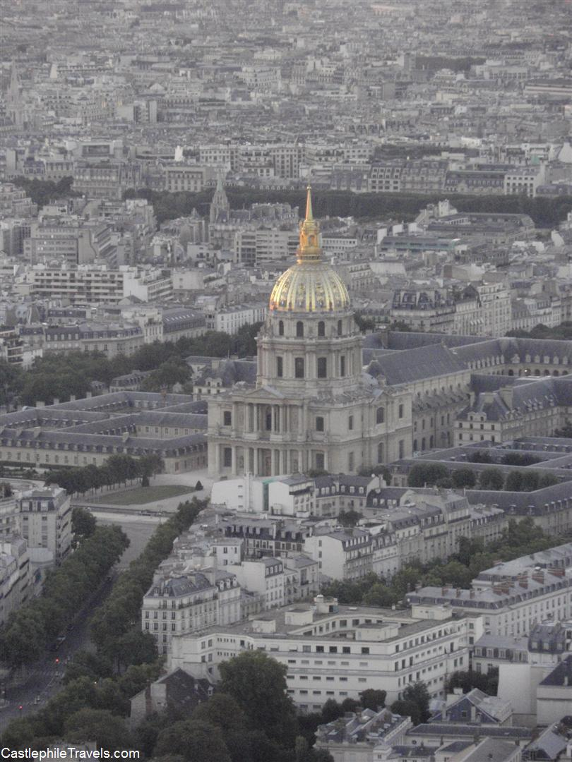 Les Invalides from Montparnasse Tower