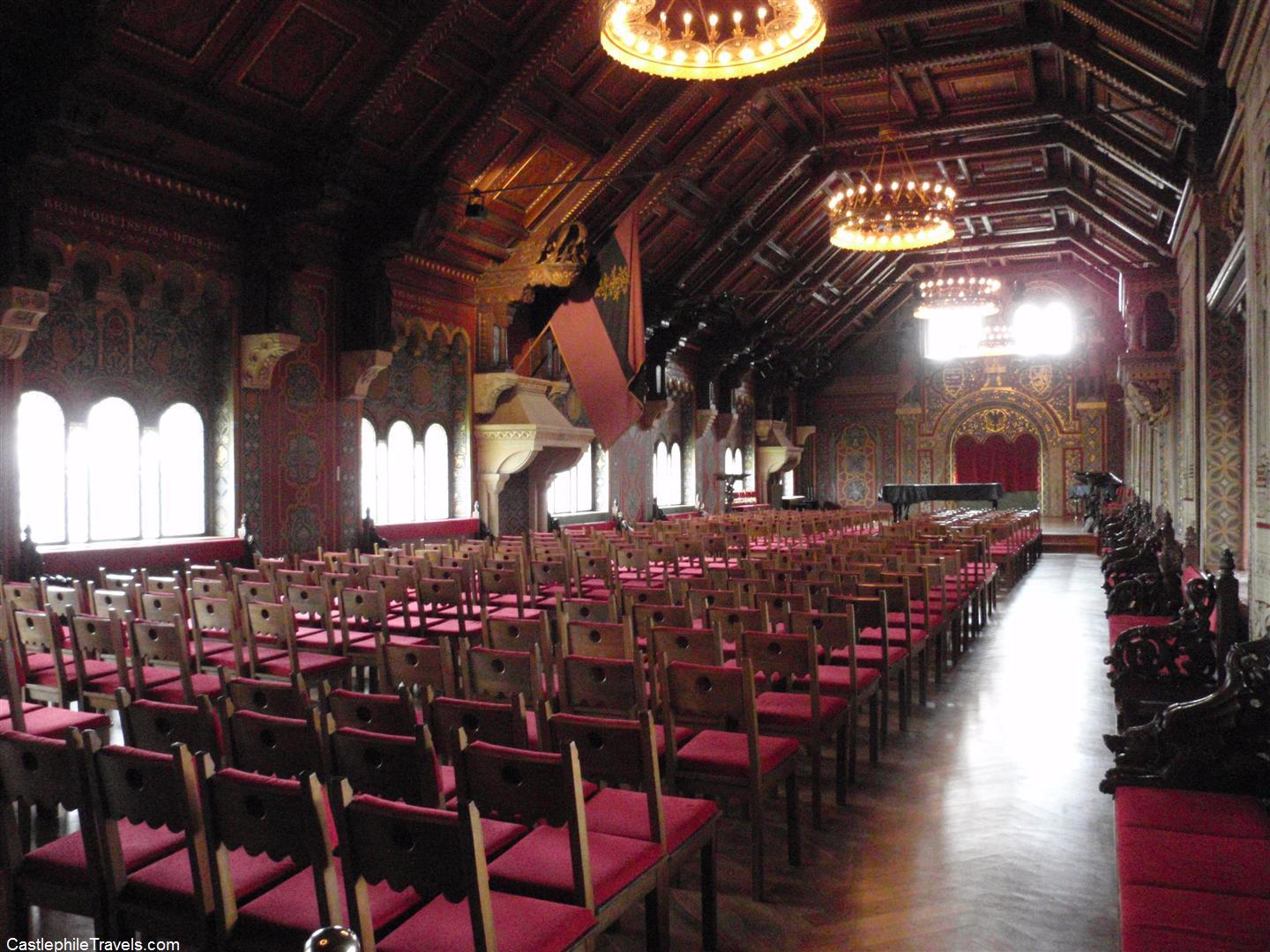 The Festival Hall at the Wartburg